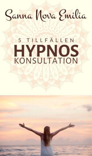Hypnoskonsultation - 5 tillfällen