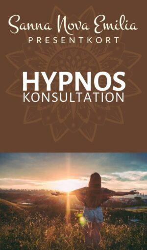 Hypnoskonsultation - Presentkort