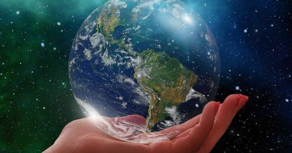 Jorden i en hand